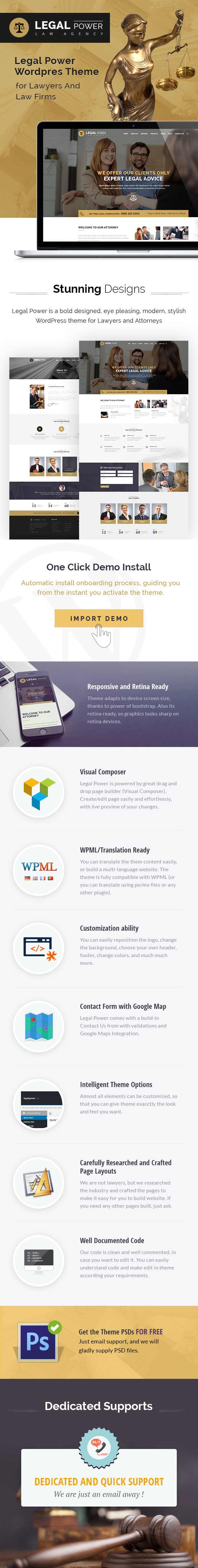 legal wordpress theme