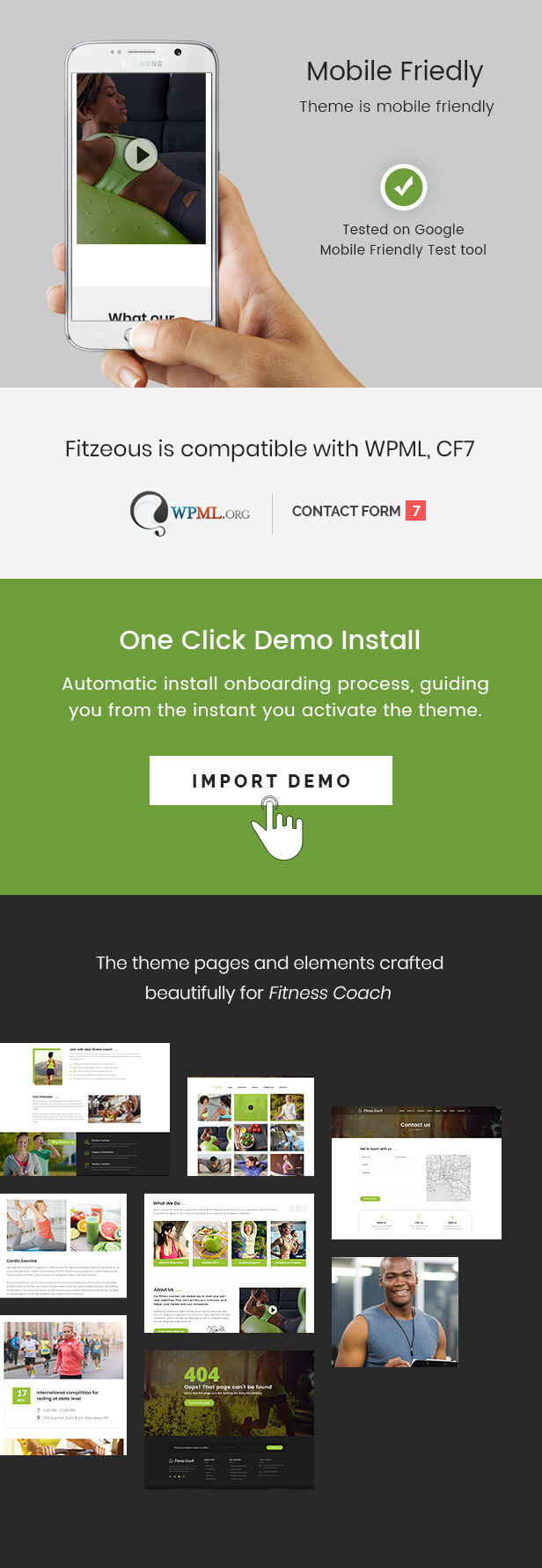 Fitzeous - Personal Fitness Trainer WordPress Theme - 3